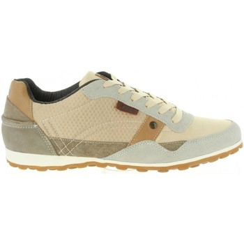 Schuhe Herren Sneaker Low Lois Jeans 84003 Beige