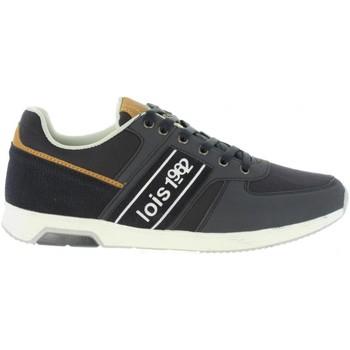 Schuhe Herren Sneaker Low Lois 84648 Azul