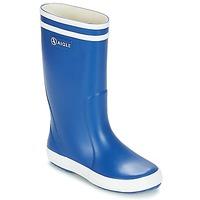 Schuhe Kinder Gummistiefel Aigle LOLLY POP Blau