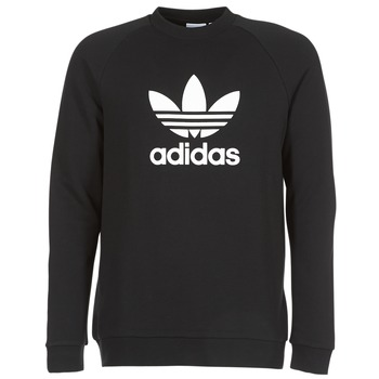 Kleidung Herren Sweatshirts adidas Originals TREFOIL CREW Schwarz