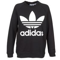 Kleidung Damen Sweatshirts adidas Originals OVERSIZED SWEAT Schwarz