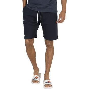 Kleidung Herren Shorts / Bermudas Ellesse Herren Noli Fleece Sweat Shorts, Blau blau
