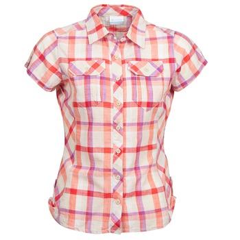 Kleidung Damen Kurzärmelige Hemden Columbia CAMP HENRY Multifarben