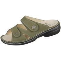 Schuhe Damen Pantoffel Finn Comfort Torbole Olivgrün