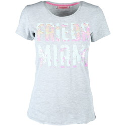 Kleidung Damen T-Shirts Frieda & Freddies 2204 grau