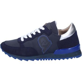 Schuhe Damen Sneaker Invicta sneakers blau textil wildleder AB54 blau