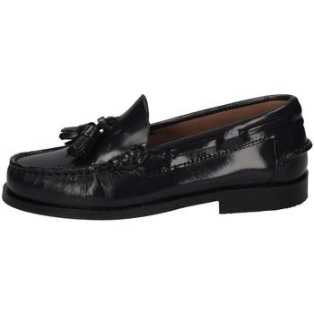 Schuhe Kinder Slipper Eli 1957 7723 BLU Halbschuhe Kind blau blau