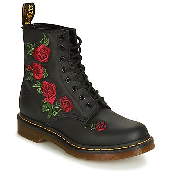 Schuhe Damen Boots Dr Martens 1460 VONDA Schwarz