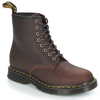 Schuhe Herren Boots Dr Martens 1460 SNOWPLOW Braun