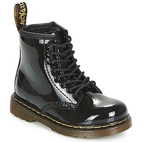 Schuhe Mädchen Boots Dr Martens 1460 PATENT CADET Schwarz