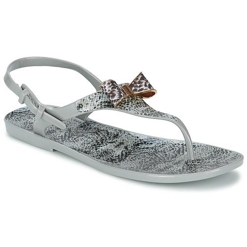 Schuhe Damen Sandalen / Sandaletten Colors of California SNAKE SANDAL Grau