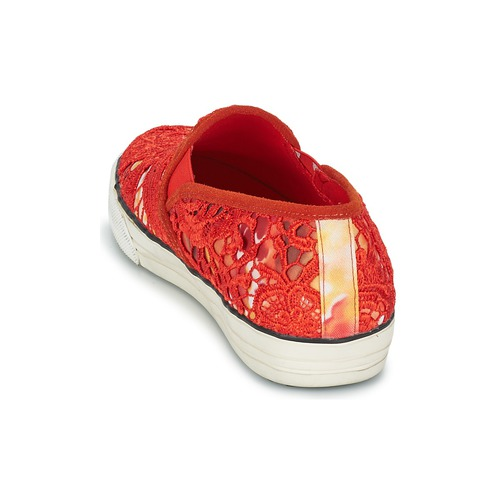 Colors Rot of California LACE SLIP Rot Colors  Schuhe Slip on Damen 67,99 043830