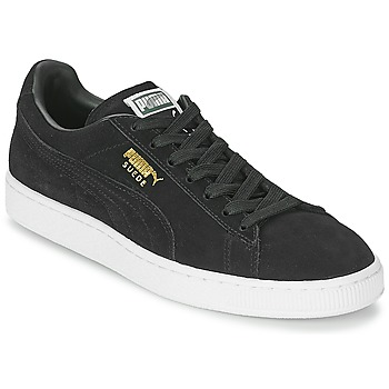 Schuhe Sneaker Low Puma SUEDE CLASSIC Schwarz