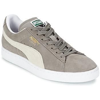 Schuhe Sneaker Low Puma SUEDE CLASSIC Grau