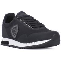 Schuhe Herren Sneaker Low Blauer BLK DETROIT Nero