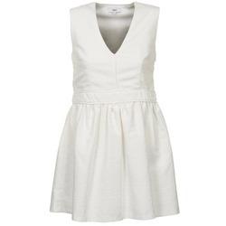 Kleidung Damen Kurze Kleider Suncoo CAGLIARI Weiss