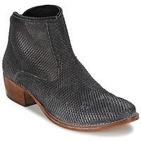 Schuhe Damen Boots Meline ELISE Schwarz
