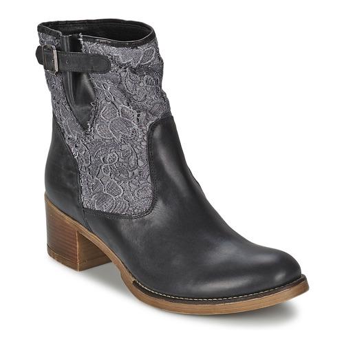 Meline ALESSANDRA Schwarz  Schuhe Low Stiefel Damen