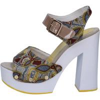Schuhe Damen Sandalen / Sandaletten Suky Brand sandalen beige textil lack AB308 beige