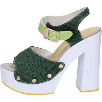 Schuhe Damen Sandalen / Sandaletten Suky Brand sandalen grün textil lack AB314 grün