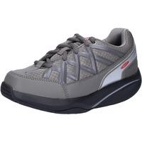 Schuhe Damen Sneaker Low Mbt sneakers grau textil dynamic AB390 grau