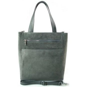 Taschen Damen Umhängetaschen Vera Pelle SV55G Grau