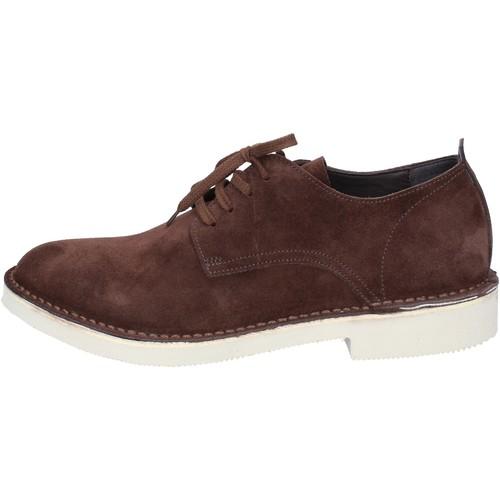 Schuhe Herren Derby-Schuhe & Richelieu Moma elegante braun wildleder AB442 braun