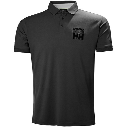 Helly Hansen HP RACING POLO EBONY Schwarz
