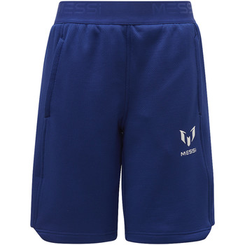 Kleidung Jungen Shorts / Bermudas adidas Performance Messi Knit Shorts Blau