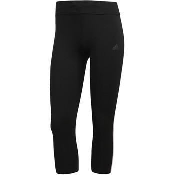 Kleidung Damen Leggings adidas Performance Response 3/4-Tight Schwarz