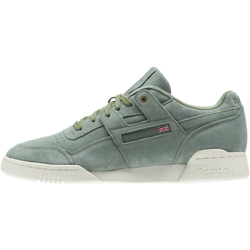 Reebok Classic Workout Plus Montana Cans collaboration Weiß