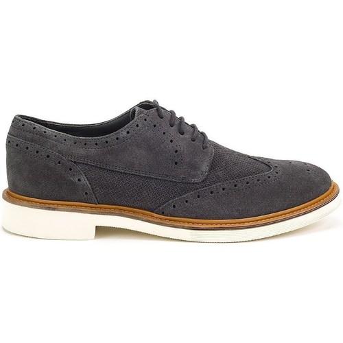 Schuhe Herren Richelieu Geox Damocle Schwarz