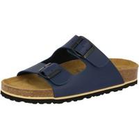 Schuhe Herren Pantoffel Lico Bioline special blau