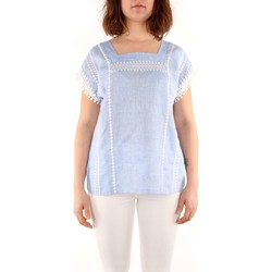 Kleidung Damen Tops / Blusen Weekend Maxmara FLIRT T-Shirts & Tops Frau light blue light blue
