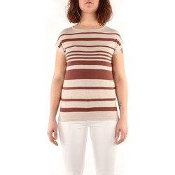Kleidung Damen Tops / Blusen Weekend Maxmara MESCAL T-Shirts & Tops Frau brown brown