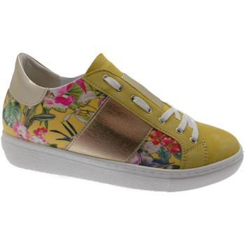 Schuhe Damen Sneaker Low Calzaturificio Loren LOC3785gi nero