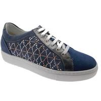 Schuhe Damen Sneaker Low Calzaturificio Loren LOC3787bl blu