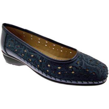 Schuhe Damen Ballerinas Calzaturificio Loren LOK3983bl blu