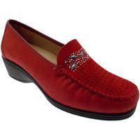 Schuhe Damen Slipper Calzaturificio Loren LOK3988ro rosso