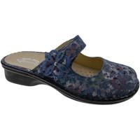 Schuhe Damen Pantoffel Calzaturificio Loren LOM2709bl blu
