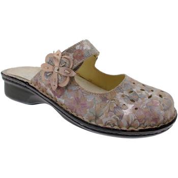 Schuhe Damen Pantoffel Calzaturificio Loren LOM2709ci blu