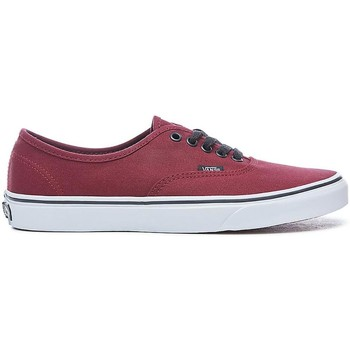 Schuhe Damen Sneaker Low Vans ZAPATILLAS  AUTHENTIC Rot