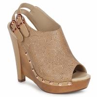 Schuhe Damen Pantoletten / Clogs Zandra Rhodes BROWNWYN Braun