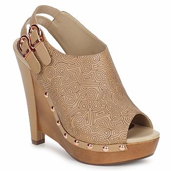 Schuhe Damen Pumps Zandra Rhodes BROWNWYN Braun