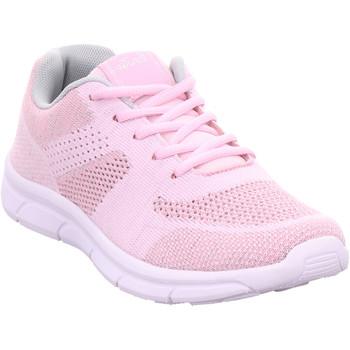 Schuhe Damen Sneaker Low Pep Step bis25mm-Sp.Bod.Abs rosa