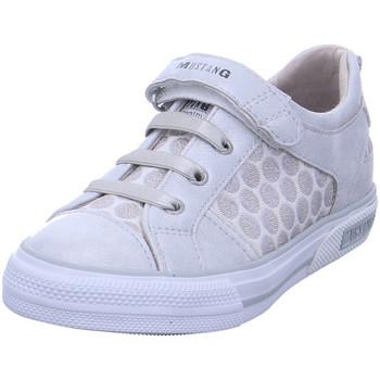 Schuhe Mädchen Sneaker Low Mustang Ko - 5046404 21 Silber