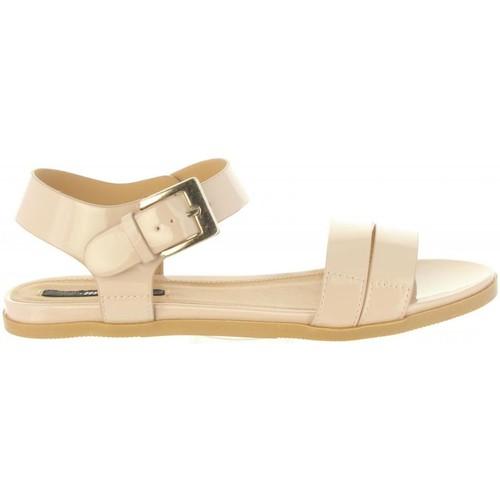 Schuhe Damen Sandalen / Sandaletten MTNG 50932 NORMA Beige