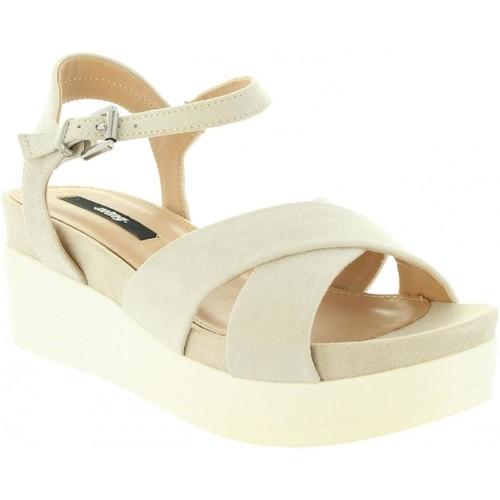 Schuhe Damen Sandalen / Sandaletten MTNG 53914 CUMA Beige