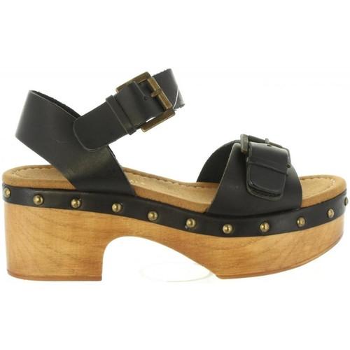 Schuhe Damen Sandalen / Sandaletten MTNG 97545 NAIRNE Negro
