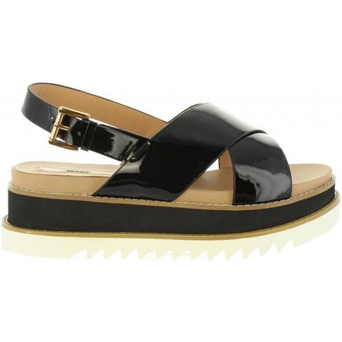 Schuhe Damen Sandalen / Sandaletten MTNG 50915 LISETTE Negro